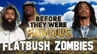 FLATBUSH ZOMBIES - Before They Were Famous - Erick Arc Elliot, Meechy Marko, Zombie Juice