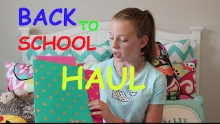 Back to School Haul | BTS Series | Millie Moo |