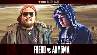 KOTD - Rap Battle - Fredo vs Anygma