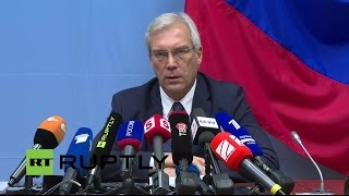 LIVE: NATO envoy Grushko holds press conference following NATO-Russia Council in Brussels