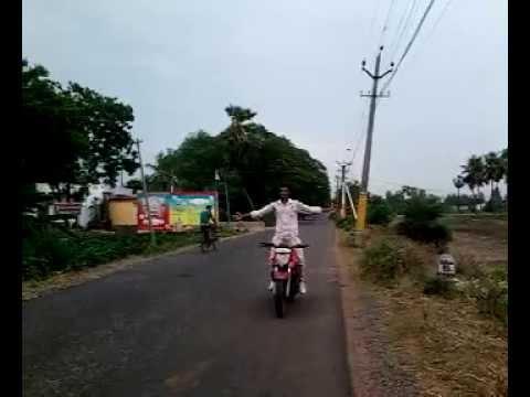 bike stunt by BALU vijayawada