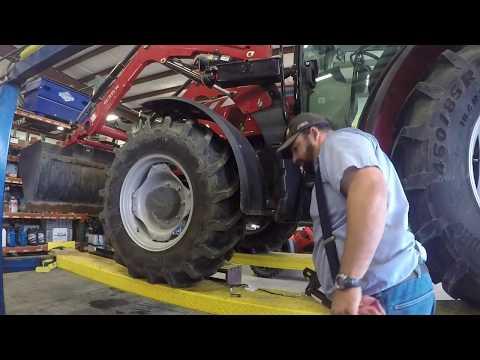 Massey Ferguson 4710 oil change and updates.