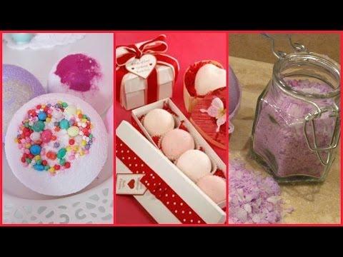 Idee regalo per Natale : BALLISTICHE EFFERVESCENTI e SALI DA BAGNO FRIZZANTI! DIY BATH BOMB