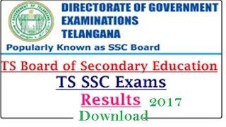 TS SSC Results 2017, Telangana Board 10th Result 2017 Manabadi Date