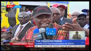 Chama Cha Mashinani receives defectors from Jubilee in Narok
