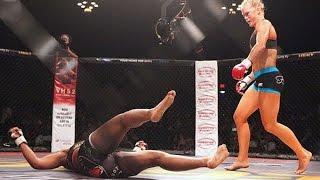 Women MMA Best Brutal Knockouts
