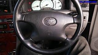 2000 Toyota Corolla GLi NZE121 Startup