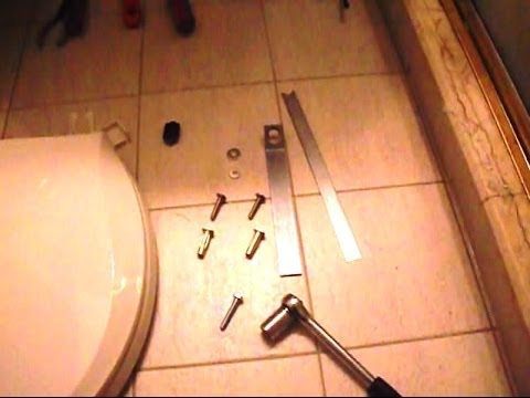 How to Install Toilet Seat on Kohler One-piece Model K3434