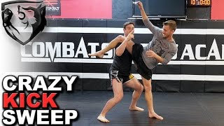 Ridiculous Fight Move: Silat Kick Catch Takedown
