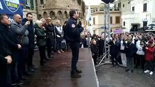 MATTEO SALVINI in diretta da VASTO (CHIETI, 20.01.2019)