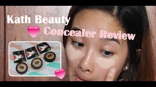 Kath Beauty Concealer Review + Swatches (Trying a Thailand Makeup Brand)