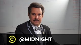 Masterclass - How to Tie a Bow Tie with Paul F. Tompkins - @midnight with Chris Hardwick