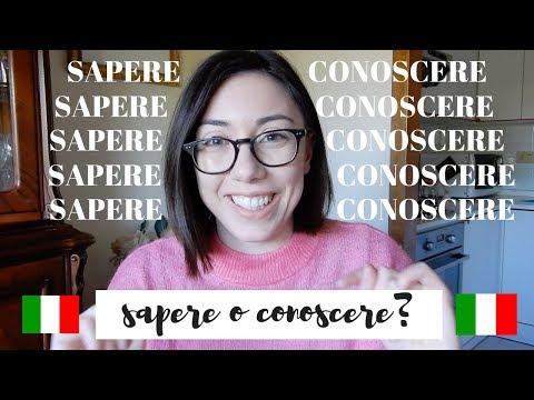 Xxx Mp4 CONOSCERE O SAPERE Which One To Use And When Italian Audio Learn Italian With Lucrezia 3gp Sex