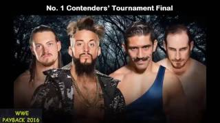 WWE Payback 2016 (Official Match Card)