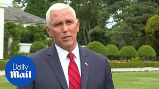 Mike Pence defends stay at Trump's Ireland hotel