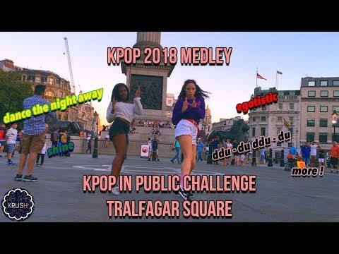 [K-POP IN PUBLIC CHALLENGE] 2018 DANCE MEDLEYRANDOM DANCE?? IN LONDON  [KRUSH LDN]