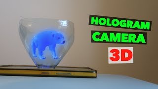 Turn your Smartphone into a 3D Hologram. DIY hologram PROJECTOR