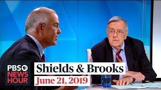 Shields and Brooks on Trump's Iran decision, Biden segregationist comments