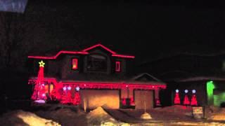 Christmas lights St. Albert