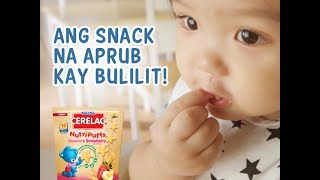 Bulilit-approved ang NEW CERELAC NutriPuffs | Nestlé PH