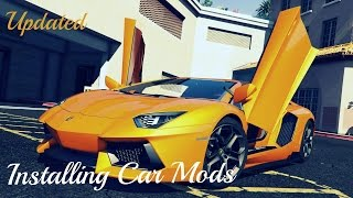 Gta v pc mods how to install car mods real cars tutorial update