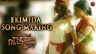 Ekimida Song Making - Gautamiputra Satakarni - Nandamuri Balakrishna - #NBK100 || A film by Krish