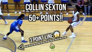 Top Guard In US? Collin Sexton 50+ Points HITTING PRO LEVEL 3 Point Shots!! Full Game Highlights