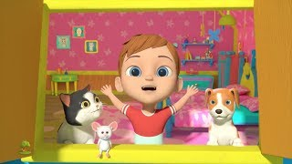 Are You Sleeping Brother John | Nursery Rhymes Songs for Children | Kids Cartoon by Little Treehouse