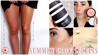How To Get The Perfect Natural Summer GLOW | Lauren Elizabeth