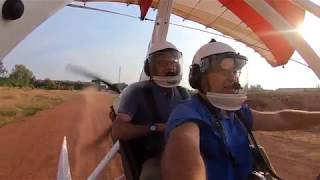 Microlighting over Siem Reap