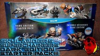 Skylanders SuperChargers- DARK EDITION STARTER PACK! {NINTENDO WII U} {UNBOXING}