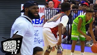LeBron James Is The Best HYPE MAN in The World! 5th Grader Jaiden Arnold Cant Be Guarded!