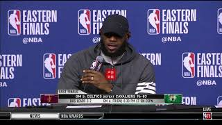 LeBron James Shocks Reporters Again By Being Able To Remember His Every Turnover From Game5