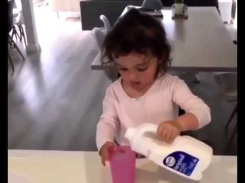 Xxx Mp4 The Girl Pours A Big Glass Of Milk Funny Video 3gp Sex