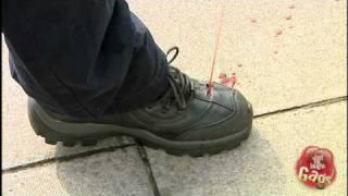 Bleeding Foot Prank
