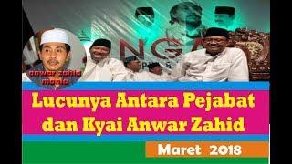 KH Anwar Zahid Maret ~ Ketika KH Anwar Zahid Ceramah di depan Gus Ipul