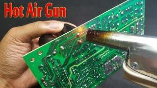 How To Make A Mini Hot Air Gun Simple At Home