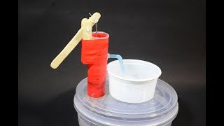 How to Make Water Hand Pump - Very Simple