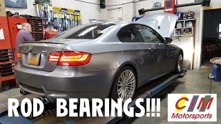bmw e92 m3 rod bearing replacement