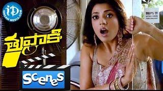 Thuppakki Movie Scenes - Jayaram, Vijay And Kajal Aggarwal Comedy In Coffee Shop || Murugadoss