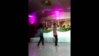 Sanam and Reya - Radha awesome dance