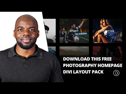 Xxx Mp4 Download This Free Photography Homepage Divi Layout Pack 3gp Sex