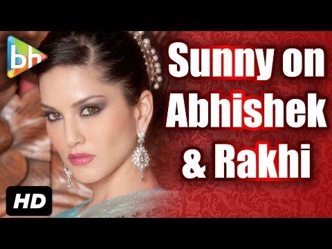Sunny Leone REACTS On Rakhi & Abhishek Manu FOOLISH Comment