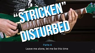 Disturbed - Stricken (como tocar - aula de guitarra)