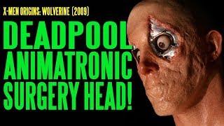 Deadpool Ryan Reynolds Surgery Head Make-Up and Animatronics
