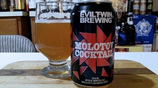 Evil Twin Molotov Cocktail with Mango & Orange (12.0% ABV) DJs BrewTube Beer Review #1188