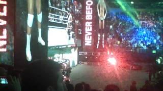 WWE Survivor Series 2011 CM Punk vs Alberto Del Rio Entrance
