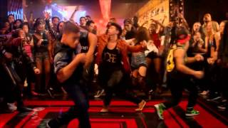 Step up all in bar dance