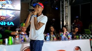 MC Rafinha da Leste :: Lançamento especial ao vivo na Roda de Funk :: Full HD
