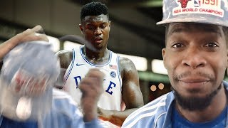 LOOK AT THAT HANGTIME! ZION WILLIAMSON vs MCGILL HIGHLIGHTS! 46 PTS & 13 REBS!!!